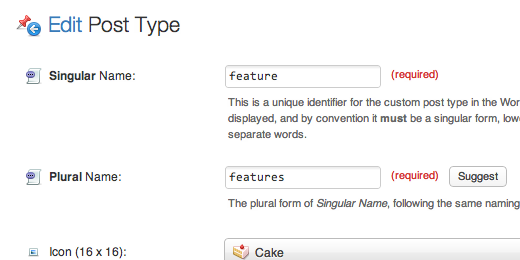 Features   MasterPress - Custom Post Type UI, Taxonomy UI, and